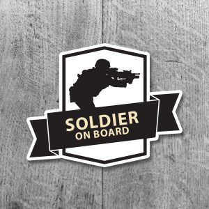 Soldier on board
